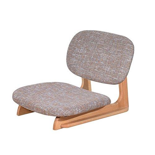 Chaise paresseuse Feifei Lit Canapé Chaise De Plancher Chaise Chaise De Plancher Dossier De Lit Aucun Jambe Tabouret (Couleur : Gray)