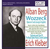 Berg Wozzeck. (Performed In English By Jess Walters Marea Wolkowsky Monica Sinclair Thorste by VARIOUS ARTISTS