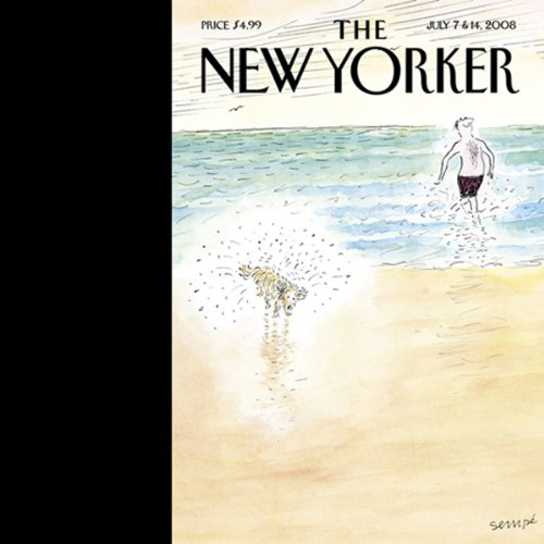 The New Yorker, July 7 & 14, 2008 audiobook cover art