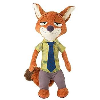 Nick Wilde Fox Stuffed Plush Toys Movie Zootopia Plush Toys Doll for Children Baby Kids