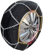 Car Anti-Skid Chain Snow Tire Anti-Skid Chain Titanium Alloy Iron Chain Snow Chain (Size : 22555R17)