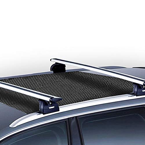 "Mockins 36"" x 39"" Protective Car Roof Mat for Any Car Roof Storage Cargo Bags with an Anti Slip Strong Grip and Extra Cushioning The Car Roof Pad Can Be Used On Your Car and SUV Or Truck"