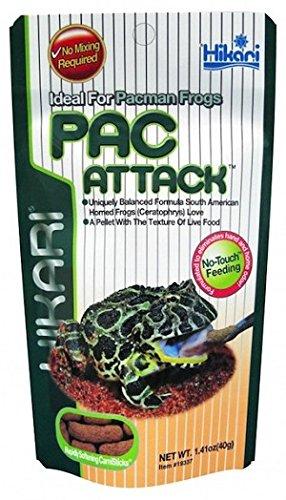 Hikari Paca - Ataque ideal para ranas Pacman de 40 g