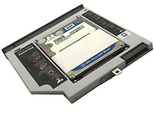 Nimitz Disco Duro 2 nd SSD Disco Duro Caddy para Lenovo IdeaPad ...