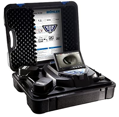 """Wohler 6253 VIS250 Visual Inspection Camera System with 1"""" Camera Head, SD Card, mini USB cable"""