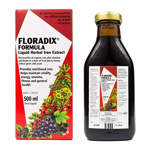 Salus Floradix Ijzer Elixer, 500 ml, 1 Units
