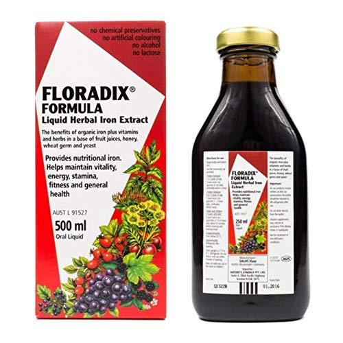 Floradix Liquid Iron & Vitamin Formula 500ml