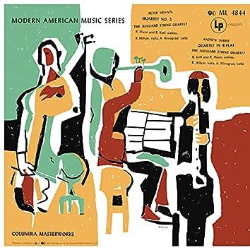 Mennin: String Quartet No. 2 - Imbrie: String Quartet in B-Flat Major (Remastered)