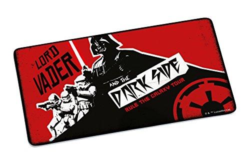 Star Wars Rock on Lord Vader Planche en mélamine Multicolore 23 x 14 x 0,5 cm