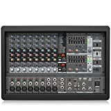 Behringer Europower PMP1680S 1600-Watt 10-Channel Powered Mixer...