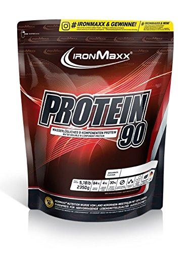 IronMaxx Protein 90 - 2350 g Beutel - Schokolade, 2350 g