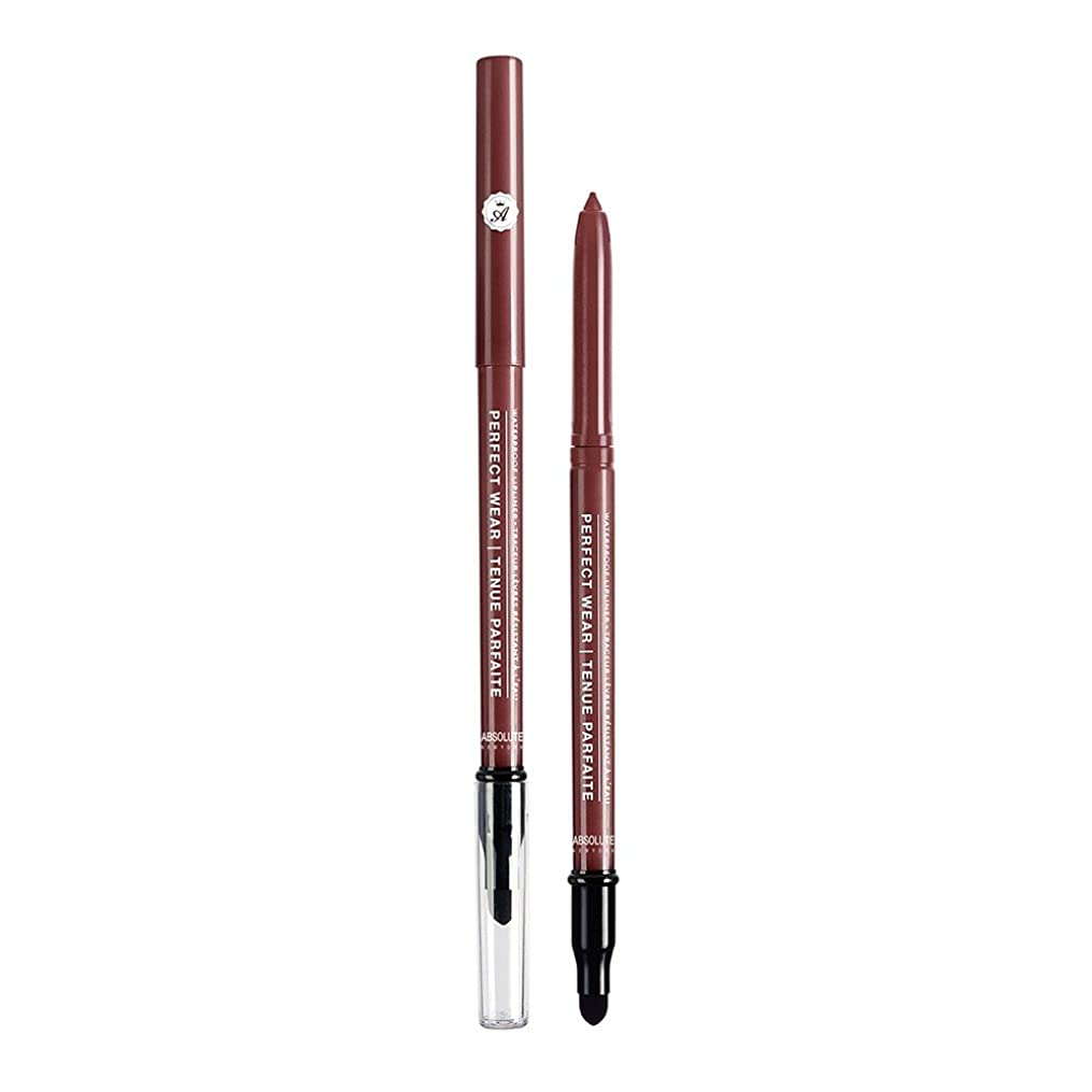 ナラーバー常習的現代のABSOLUTE Perfect Wear Waterproof Lipliner - Black Cherry (並行輸入品)