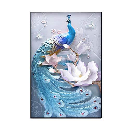YASION DIY 5D Diamant Malerei Set Kristall Strass Diamant Stickerei Bilder Bilder Kunsthandwerk für Home Wall Decor Erwachsene und Kinder-60 * 100 cm