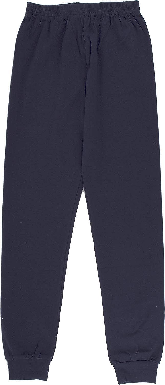 Classicpjs Kid's Pajama Pants Cotton Jogger - PJ Bottoms for Boys and Girls Comfy Sleepwear | Navy Blue 16