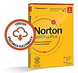 Norton Antivirus Plus 2021 - 1 Dispositivo, 1 Año, para PC/Mac, Código de activación enviado por email