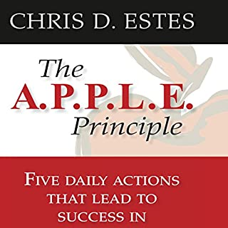 The A.P.P.L.E. Principle audiobook cover art