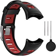QGHXO Replacement Soft Wristband with Metal Buckle for Suunto Quest/Suunto M1/Suunto M2/Suunto M4/Suunto M5/M-Series Smart Watch