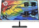 HP 27fh (27 Zoll / Full HD IPS) Monitor (HDMI, VGA, AMD FreeSync, 1920 x 1080 Pixel bei 60Hz, 5ms Reaktionszeit, höhenverstellbar) schwarz/silber