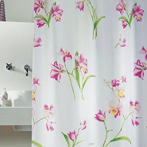 Im europäischen Stil mit Bad Narzisse Verdickung anti-Schimmel Badezimmer wasserdichtes Polyester Duschvorhang Vorhang Vorhang abgetrennt, 200x180 cm