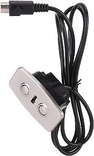 Mumusuki Puerto de Control Remoto Controlador de Mano Silla reclinable eléctrica Sofá Elevador Interruptor de Mano de 2 Botones con USB Dual