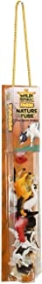 Wild Republic Farm Figurines Tube, Horse, Cow, Donkey, Duck, Sheep, Chicken, Rooster, Pig, Dog, Cat, Goat, 16 Piece playset