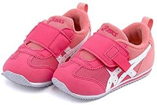 [アシックス] スクスク SUKU2 女の子 男の子 キッズ ベビー 子供靴 運動靴 通学靴 ベビーシューズ スニーカー アイダホ ベビー KT-ES ストラップ 反射材 通気性 クッション性 アイダホ BABY KT-ES TUB171
