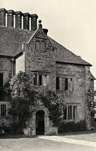 Pôster Batemans Burwash Sussex Rudyard Kiplings English Home Joseph Rudyard Kipling 1865 a 1936 Autor britânico e poeta BOR 111 x 45 cm