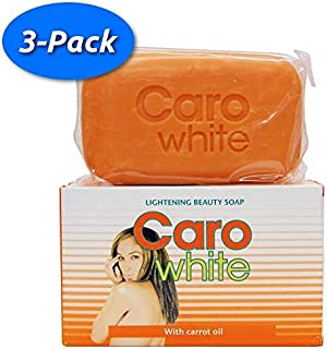 CARO WHITE LIGHTENING BEAUTY SOAP 180g (3 Pack)