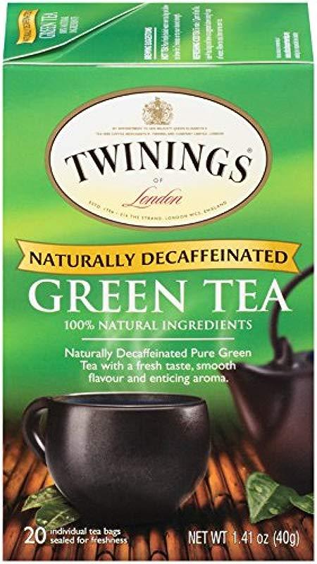 Twinings Decaffeinated Green Tea 120 Count