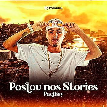 Postou nos Stories