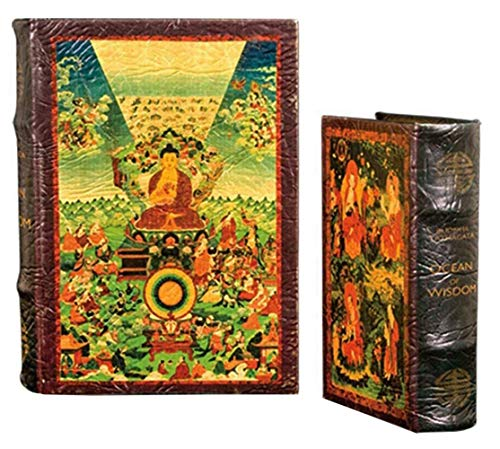Life of the Buddha Art Book Box Set Jewelry Keepsake Secret Box Buddhism