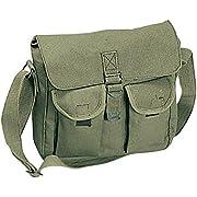 ROTHCO Canvas Ammo Shoulder Bag, Olive Drab