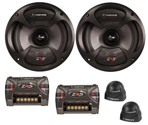 Learn More About Cadence Acoustics ZRS-5K 250-Watt Peak 2-Way Speaker Component Kit