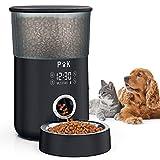 PUPPY KITTY Comedero automático, comedero Temporizador de 4L para Perros y...
