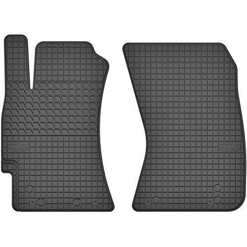 AGCPdirect Gummi Matten Fußmatten Passgenau Vorne Set für Subaru Forester SH 2008-2013 und Subaru Impreza 2007-2011 und Subaru Legacy 2003-2009 und Subaru Outback 2004-2009