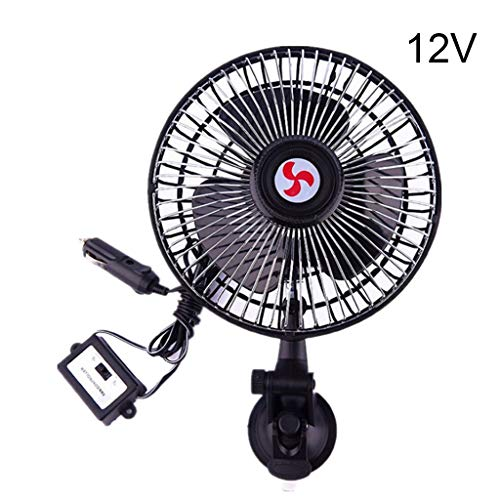 HOTPINK1 Enfriamiento eléctrico con ventosa para coche, 12 V/24 V, 1#
