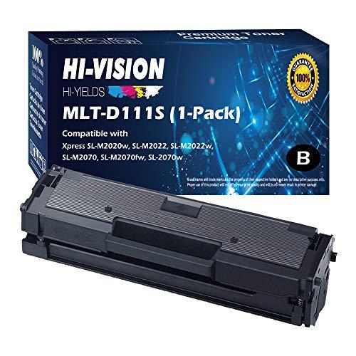 HI-VISION HI-YIELDS Compatible Toner Cartridge Replacement for Samsung MLT-D111S ( Black , 1 pk )