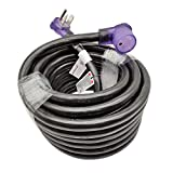 Parkworld 6AWG NEMA 6-50 extension cord 50 AMP, Welder 50A 3-Prong 6-50P to 6-50R (50FT)