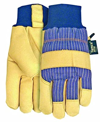Thermolite Lined Insulated Pigskin Leather Work Glove
