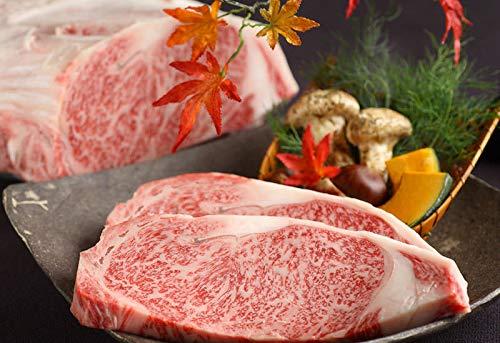 前沢牛 A4〜5等級 サーロイン ステーキ用 150g×2枚 木箱入り 贈答用 亀山精肉店 岩手・奥州が誇る極上の和牛 鮮やかな霜降りととろけるような舌触りの牛肉