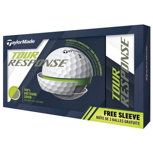 TaylorMade Tour Response Golf Ball, White, Large, Dozen