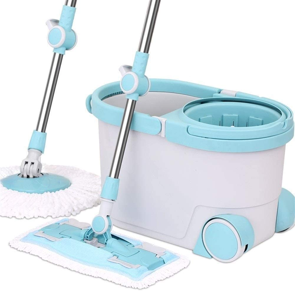XYSQWZ Spin Mop Bucket Dual 1 Wet Branded goods and Max 83% OFF Dry Drive