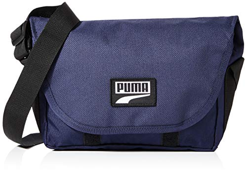 PUMA Uni Umhängetasche Deck Mini Messenger, Peacoat, OSFA, 77861
