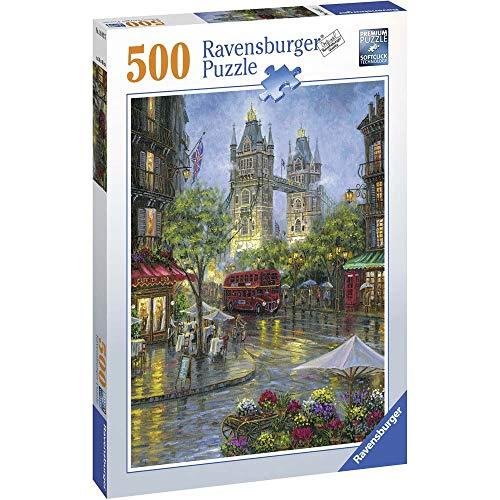 Ravensburger 14812 7 Malerisches London Puzzle, Mehrfarbig