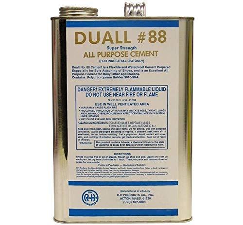 Duall 88 Neoprene Cement | Shoe Repair Glue 1 Gal.