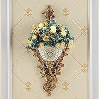 セラミック花瓶植木鉢植物容器セラミックDセンターピース用セラミック花瓶、装飾花瓶、寝室キッチンオフィスホテルウォールデコホームデコレーション装飾ハンギングプランター花瓶