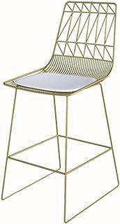 Renovering Hus Bärbart sovrum Omklädningsstol Metall Hållbar Matstol Modern Kreativitet Barstolar Flicka Sovrum Skrivbords...