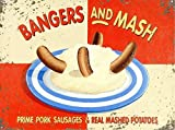 Bangers And Mash Classic Retro Metall Home Decoration