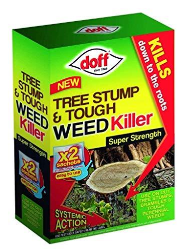 Doff New Tree Stump & Tough Weedkiller 2 Sachet