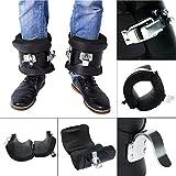 YaeTek Anti Gravity Inversion Hang Up Boots Inversion Boots Gravity Compression Relief Exercise...